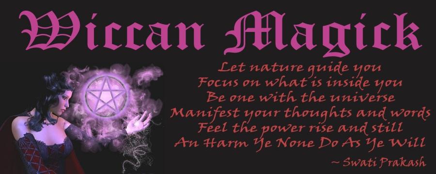 wiccan magick